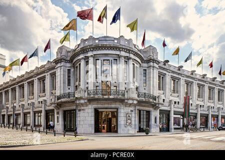 Palais Des Beaux Arts, (1929), c2014-2017. Artist: Alan John Ainsworth. - Stock Photo