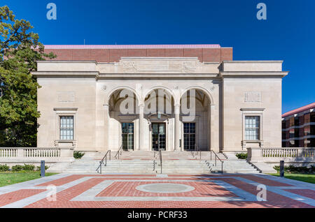 ANN ARBOR, MI/USA - OCTOBER 20, 2017: William Clements Library at University of Michigan. - Stock Photo