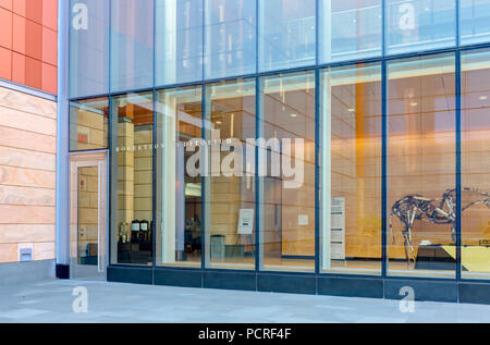 ANN ARBOR, MI/USA - OCTOBER 20, 2017: Robertson Auditorium on the campus of the University of Michigan. - Stock Photo