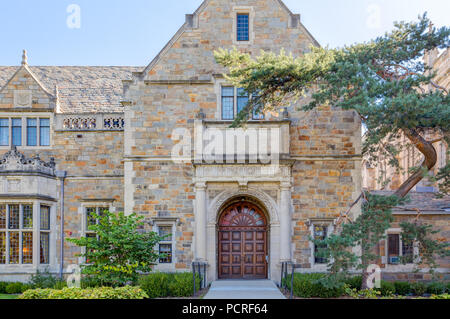 ANN ARBOR, MI/USA - OCTOBER 20, 2017: Lawyers Club building on the campus of the University of Michigan. - Stock Photo