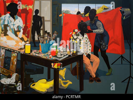 Untitled (Studio) by Kerry James Marshall - Stock Photo