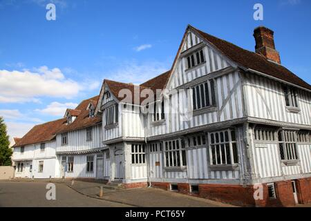 Guildhall of Corpus Christi Lavenham Suffolk UK - Stock Photo