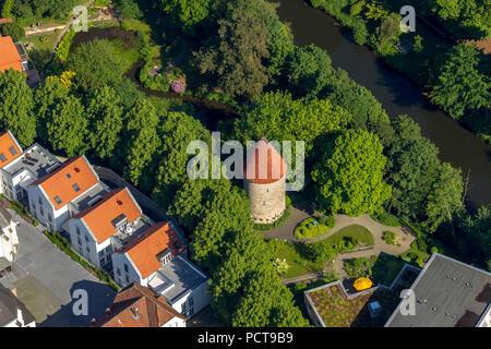 Bentheim Tower, Warendorf, disrict town of Warendorf, North Rhine-Westphalia, Germany