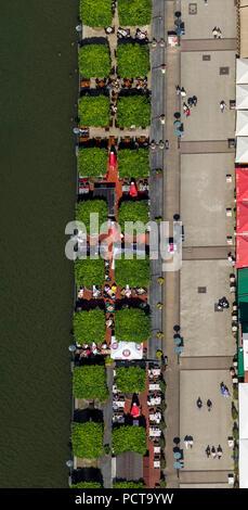 Promenade Centro, attractions, Oberhausen, Ruhr area - Stock Photo