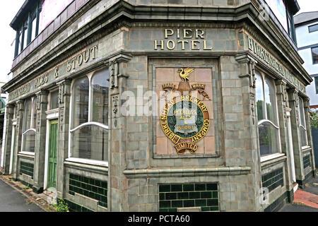 The Pier Hotel, Birkenhead Central, Birkenhead,  Canning Street, Birkenhead, Wirral, CH41 6QS - Stock Photo