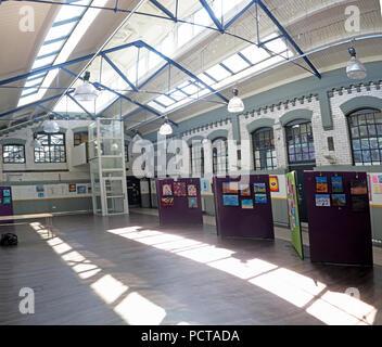 The Gateway Community Resource Centre, Charity Resources, 89 Sankey Street, Warrington, Cheshire, North West England, UK - Stock Photo