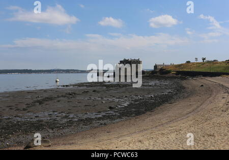 Blackness Castle on Firth of Forth Scotland  July 2018 - Stock Photo