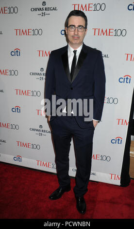 NEW YORK, NY - APRIL 21: Jill Soloway attends the TIME 100 Gala, TIME's 100 Most Influential People In The World at Jazz at Lincoln Center on April 21, 2015 in New York City   People:  John Oliver - Stock Photo