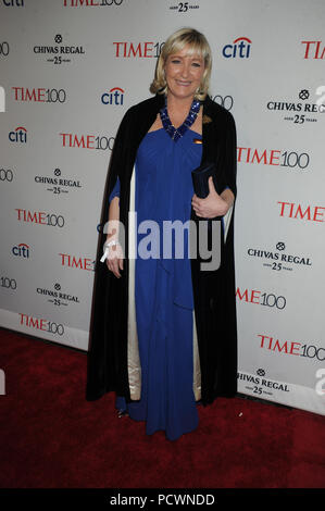 NEW YORK, NY - APRIL 21: Jill Soloway attends the TIME 100 Gala, TIME's 100 Most Influential People In The World at Jazz at Lincoln Center on April 21, 2015 in New York City   People:  Marine Le Pen - Stock Photo