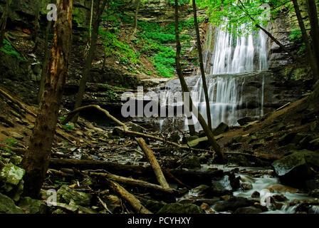 Sherman Falls Hamilton, Ontario - Stock Photo