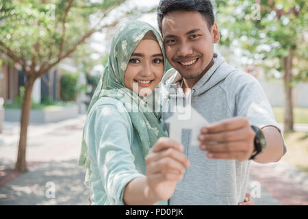 buying a new house - Stock Photo