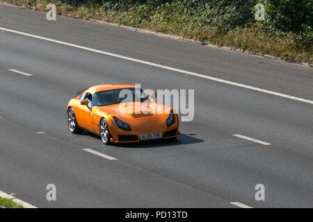 Al55tvr Orange Tvr Sagaris 2004 Stock Photo 214539934 Alamy