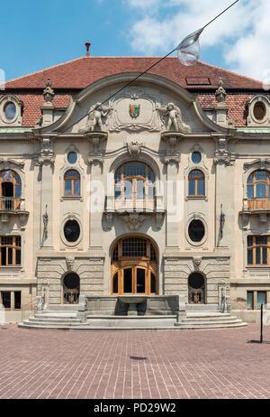 New Building of Unterlinden Museum in Colmar, France - Stock Photo
