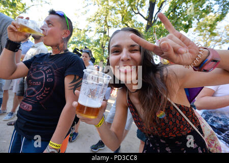 in August to support Prague Pride and the gay community
