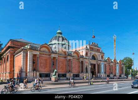 Ny Carlsberg Glyptotek art museum, Copenhagen, Zealand, Denmark - Stock Photo
