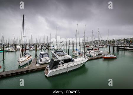 St. Mary's Bay, Auckland, New Zealand - Stock Photo