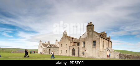 Skaill House on the Bay of Skaill, West Mainland, Orkney - Stock Photo