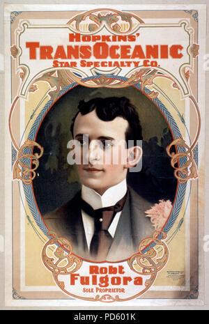 Hopkins' Transoceanic Star Specialty Co. ca 1898 - Stock Photo