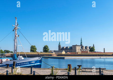 Kronborg Castle, Helsingør ( Elsinore ), Zealand, Denmark - Stock Photo