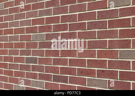 Rosy Red And Grey Brick Wall Background In Traditional Running Bond Adorable Running Bond Pattern