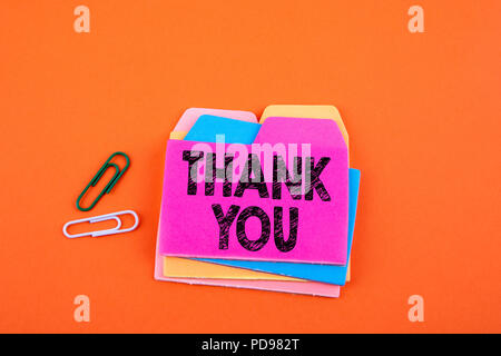 Thank You, Business Concept - Stock Photo
