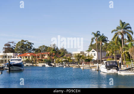 Housing in Taren Point, Sydney, New South Wales - Stock Photo