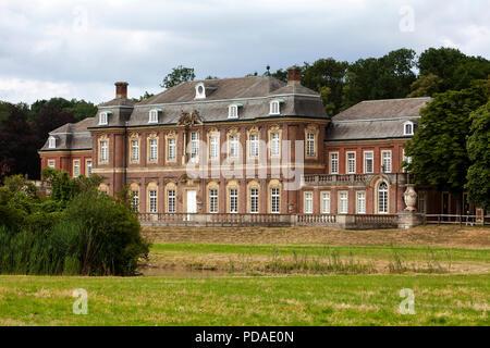 Oranienburg  Castle, Nordkirchen Moated Palace, Germany - Stock Photo