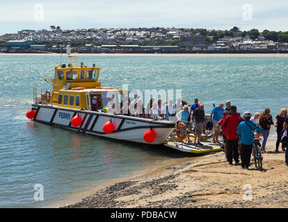 Rock to Padstow ferry. - Stock Photo