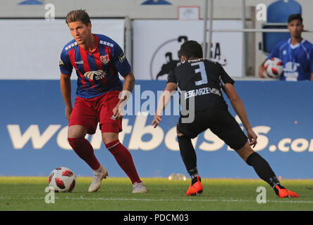Duisburg, Germany. 08th Aug, 2018. Duisburg, Germany August 8 2018, 3rd league matchday 3, KFC Uerdingen 05 vs SV Meppen: Credit: Juergen Schwarz/Alamy Live News - Stock Photo