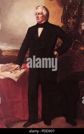 Millard Fillmore, Healy, George, 1850. - Stock Photo