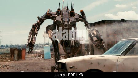 DISTRICT 9  2009 TriStar Pictures film - Stock Photo