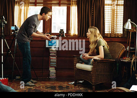DISTURBIA 2007 DreamWorks film with Sarah Roemer and Shia  LaBeouf - Stock Photo