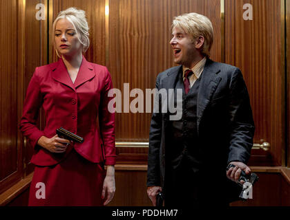 MANIAC 2018> Paramount Television series with Emma Stone and Jonah Hill - Stock Photo
