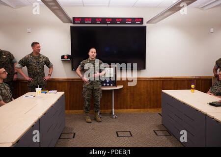 Marine Sgt James Bj