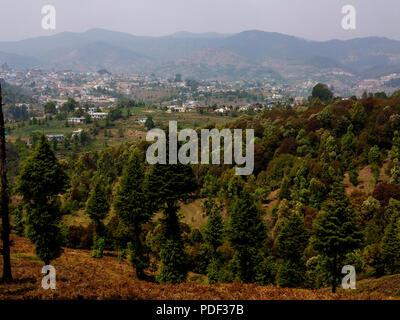 Champawatt town, Kumaon Hills, Uttarakhand, India Stock