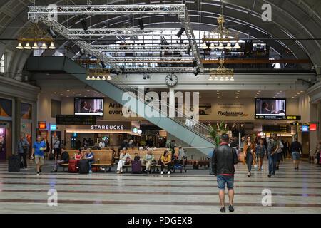 Stockholm Central Station, railway station. Interior - Stock Photo