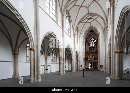 Nach der Renovierung ohne Kirchenbänke, Blick nach Westen - Stock Photo
