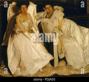 61 Hugh Ramsay - The Sisters, 1904 - Stock Photo