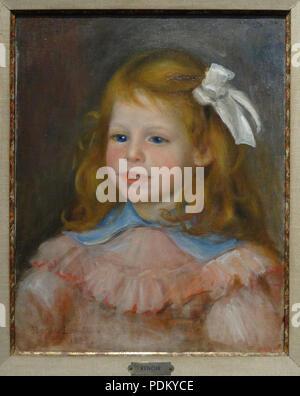 28 Pierre-Auguste Renoir - Portrait de son fils Jean - Stock Photo