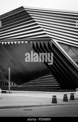 The Eli and Edythe Broad Art Museum at Michigan State University, in East Lansing, Michigan - Stock Photo