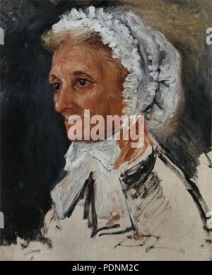28 Pierre-Auguste Renoir - Portrait de la mère de Renoir - Stock Photo