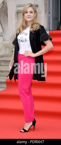 Photo Must Be Credited ©Alpha Press 078237 09/08/2018 Alix Wilton Regan at The Wife Premiere held at Somerset House in London - Stock Photo