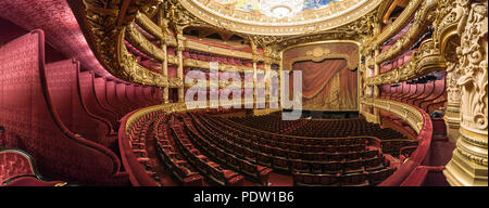 Paris (France): Opera Garnier. The building is classified as a National Historic Landmark (French 'Monument Historique')
