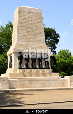 Guards Division War Memorial, Horse Guards Parade, City of Westminster, London, England - Stock Photo