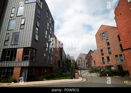 tramways student roost university student accommodation chester cheshire england uk - Stock Photo