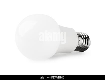 Light-emitting diode, LED isolated on a white background - Stock Photo