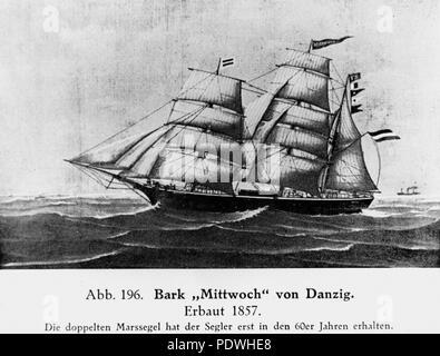 236 StateLibQld 1 164003 Mittwoch (ship) - Stock Photo