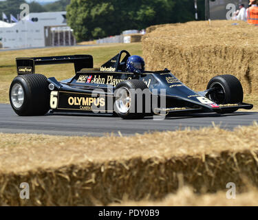 Nick Fennell, Lotus Cosworth 79, The Cosworth Years, Festival of Speed - The Silver Jubilee, Goodwood Festival of Speed, 2018,  Motorsports, automobil