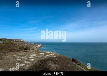 Weymouth, Dorset, United Kingdom, Monday,  13th March 2017, General View, the Coastline, round, Portland Bill,   © Peter SPURRIER - Stock Photo