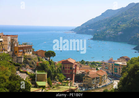 Amazing view of Amalfi Coast from Vietri sul Mare village, Italy - Stock Photo